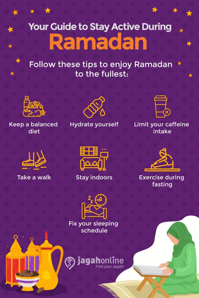 Stay active during ramadan